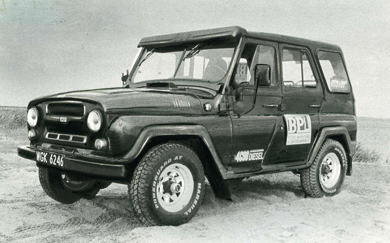 «Козлик» УАЗ-469— таких модификаций выточно невидели!— фото 978721