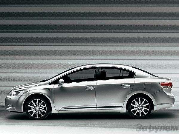 Презентация Toyota Avensis: Евротойота— фото 90745