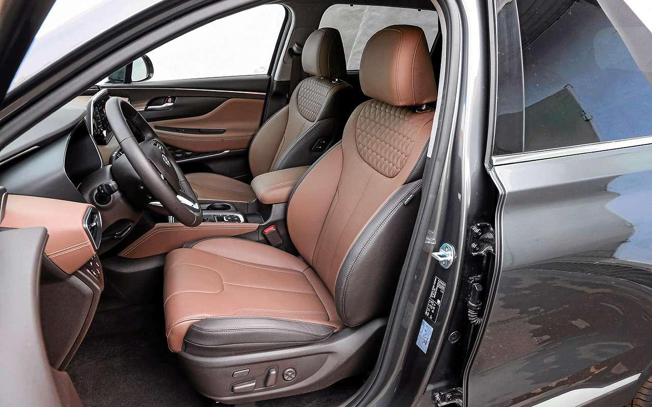 Hyundai Santa Feпротив конкурентов: большой тест кроссоверов— фото 931484