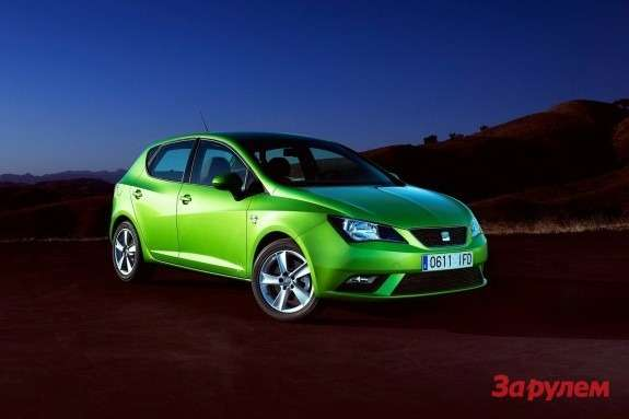 SEAT Ibiza side-front view
