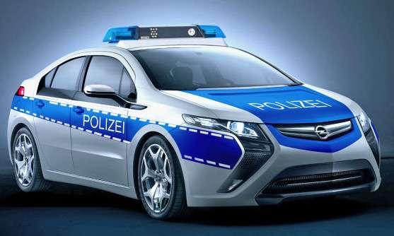 Электрокарам пророчат каръеру патрульных машин
