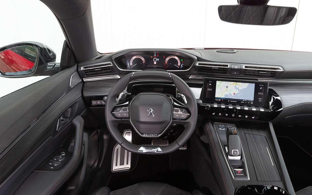 Новый Peugeot 508: онхочет конкурировать снемцами. Ночем?— фото 886341