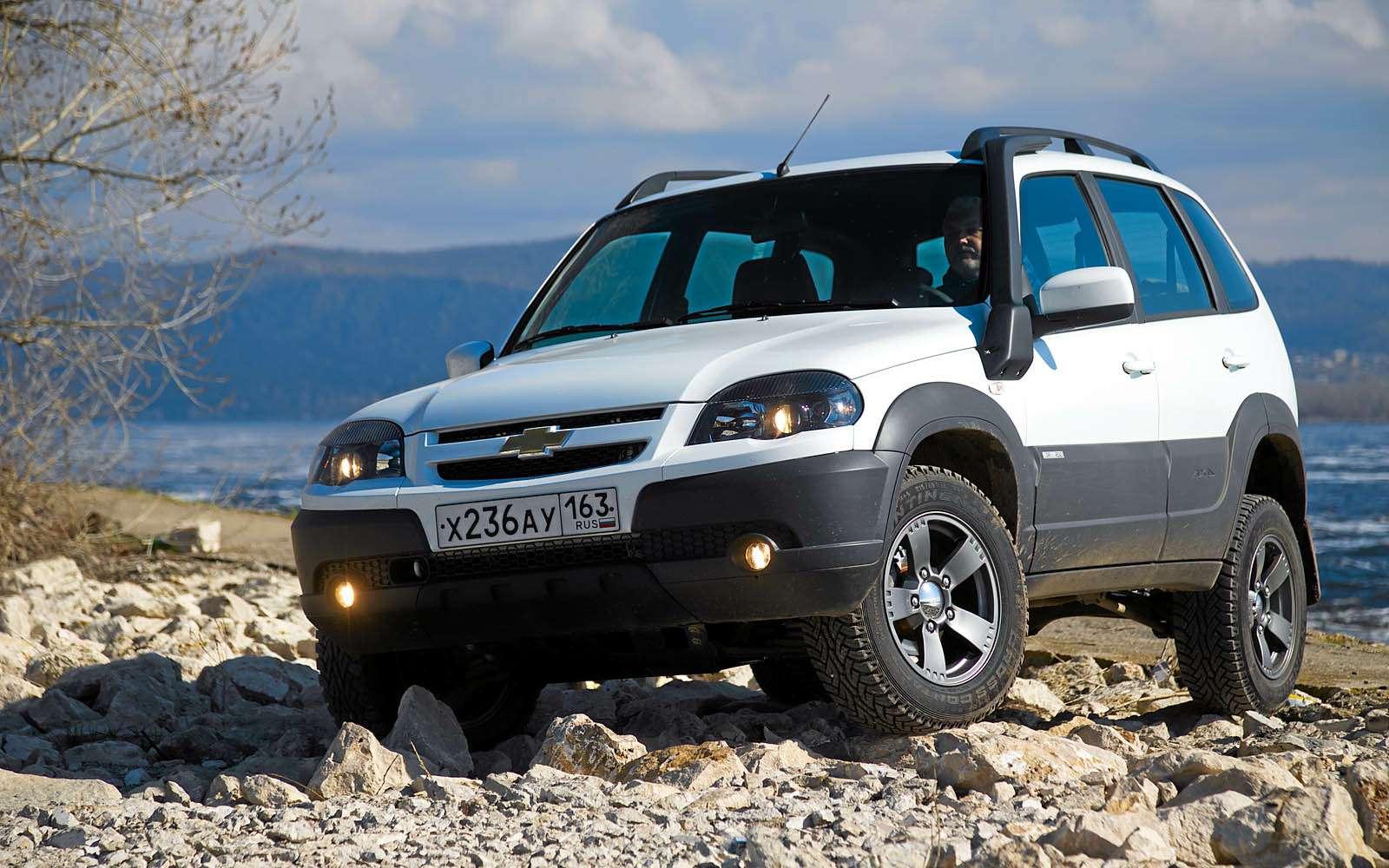 Chevrolet Niva: 10000 километров замесяц— фото 603203