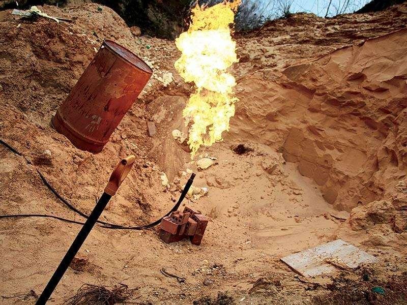 Эксперимент. Безопасен лигаз: Аунас вмашине газ... (ВИДЕО)— фото 90867
