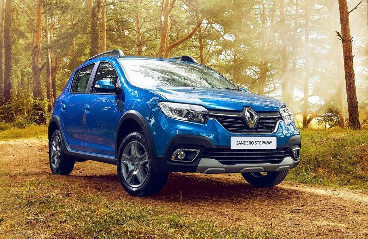 Renault Logan Stepway или Sandero Stepway: что выбрать?— фото 917441