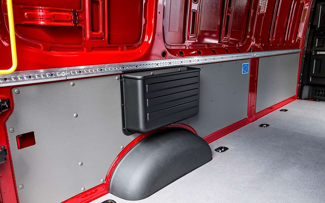 Volkswagen Crafter— тест поднагрузкой— фото 975600