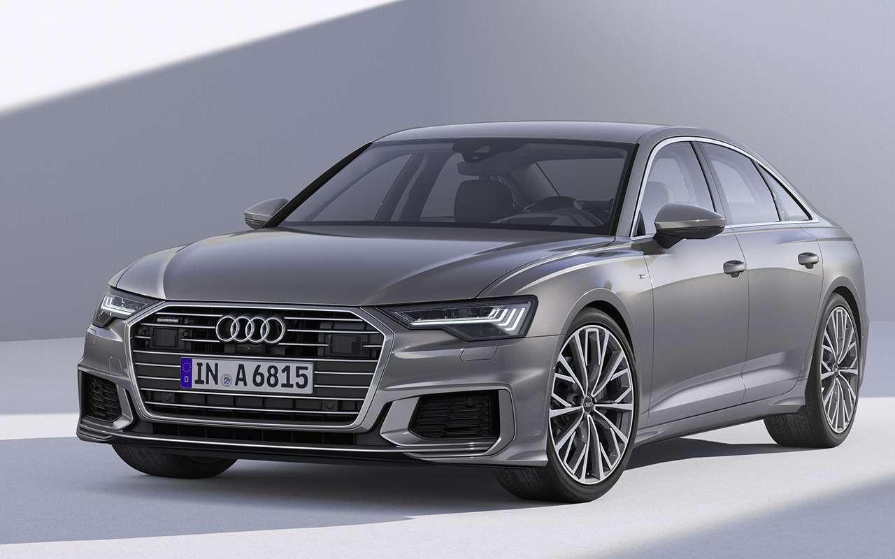 Новый Audi A6: что онвзял устарших?— фото 859129