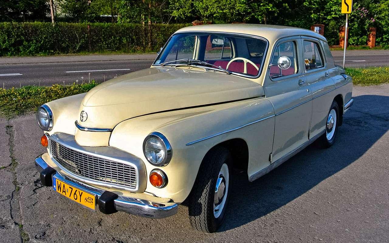 Наши заграницей: вочто превращались автомобили СССР вКитае, Корее, наКубе— фото 963670