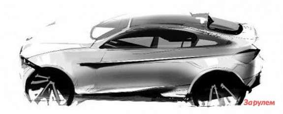 BMW X4 rendering side view