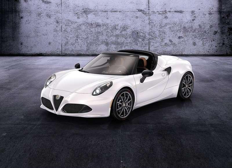 Alfa Romeo показала вЖеневе концепт родстера 4CSpider