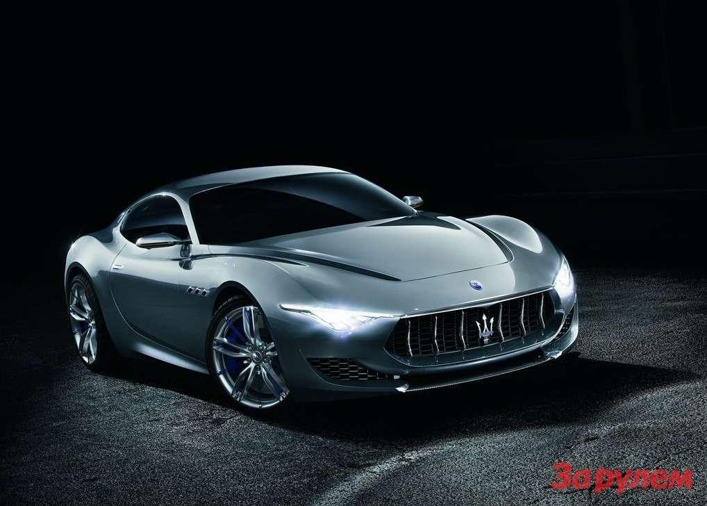 В Женеве дебютировал концепт Maserati Alfieri