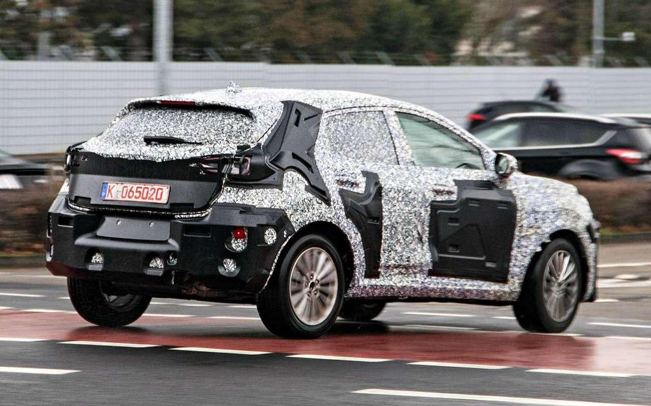 Ford заменит EcoSport наFiesta SUV— фото 942528
