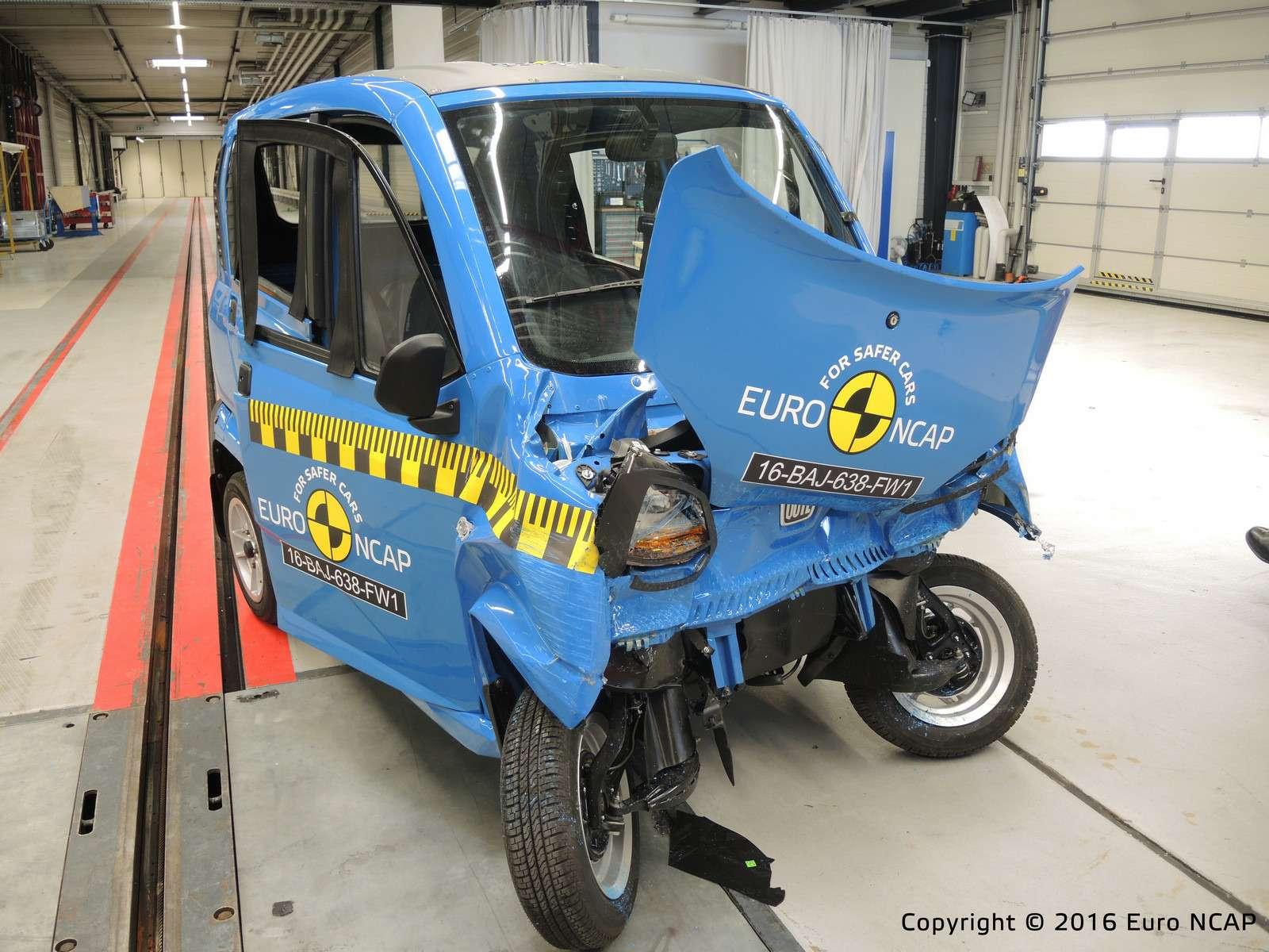 Euro NCAP огласил ужасающие результаты краш-тестов тяжелых квадроциклов— фото 573072