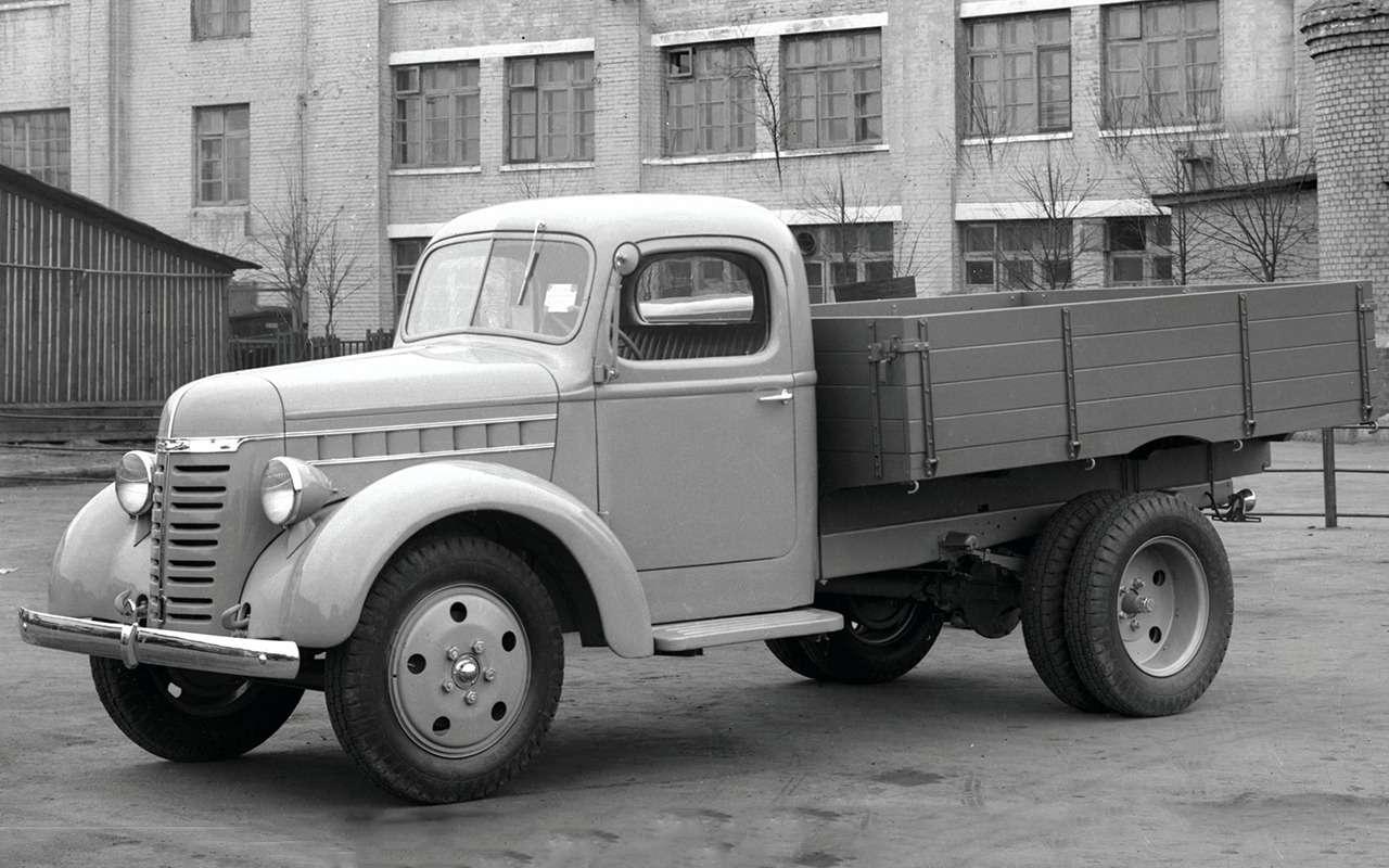 Самый популярный грузовик СССР— такого ГАЗ-51вы невидели— фото 961756