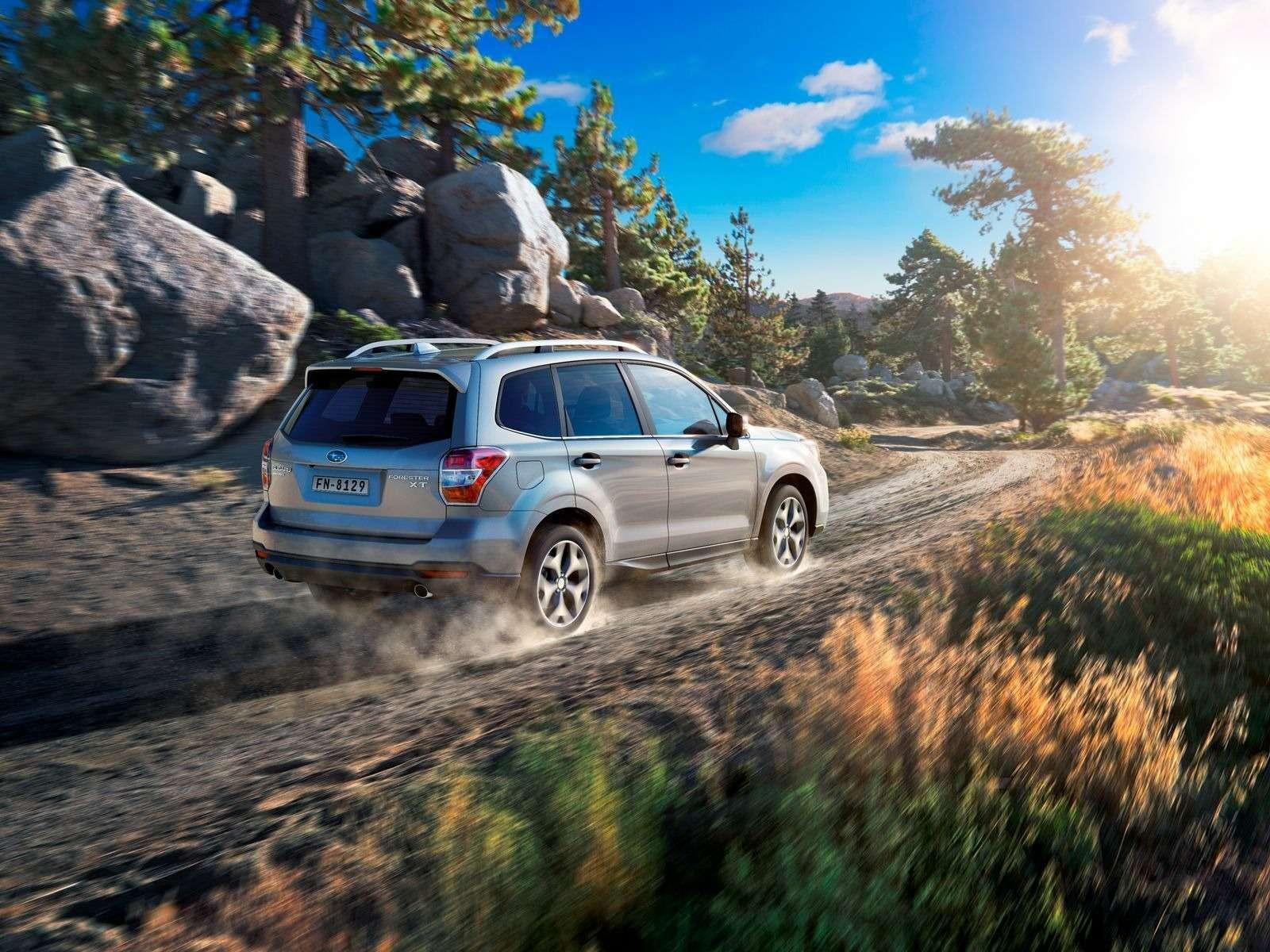 Subaru объявила цены наобновленный Forester— фото 375844