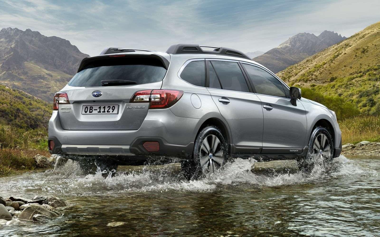 Кросс-универсал Subaru Outback неподорожал после обновления— фото 855712