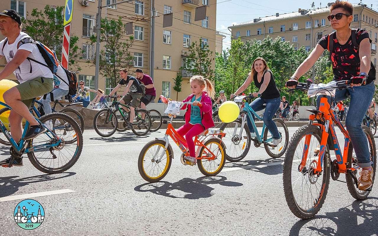ВМоскве пройдет ночной велофестиваль