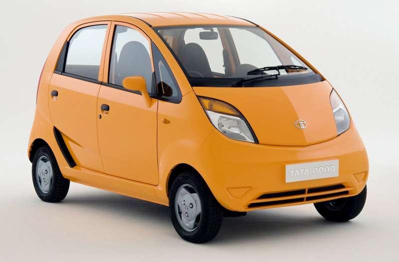 Прекращен выпуск сверхдешевых авто  Tata Nano