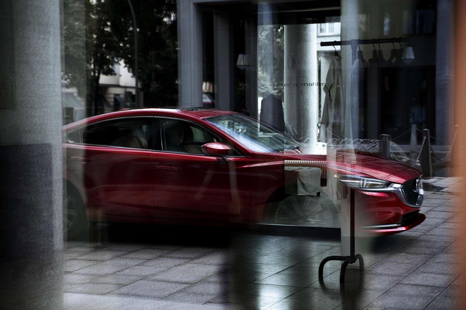 Обновленная Mazda 6— дорого ибогато— фото 821657