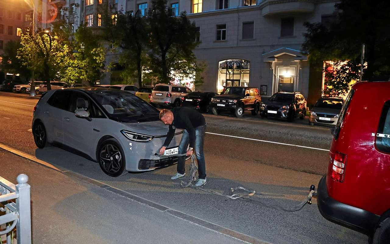 Как мы «убивали» батарею нового Фольксвагена - фото 1260393