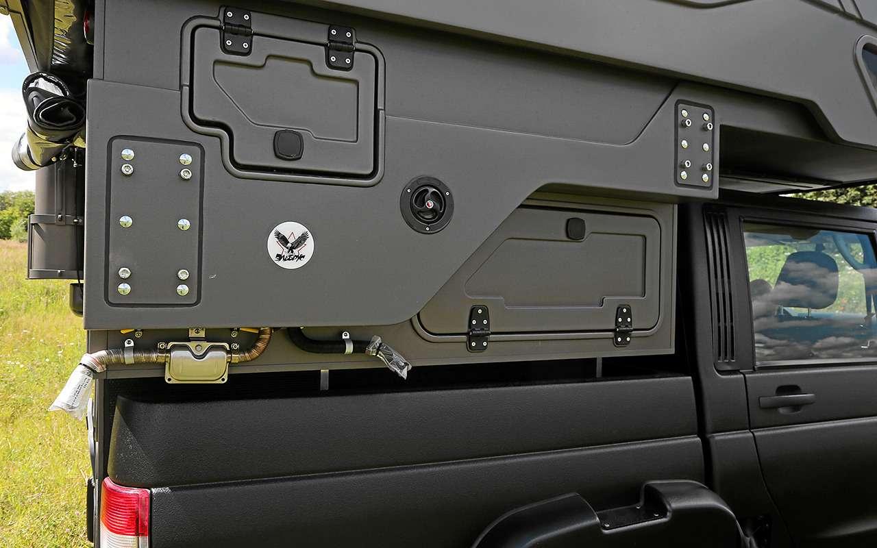 Автодом набазе пикапа УАЗ— подробный обзор— фото 1159472