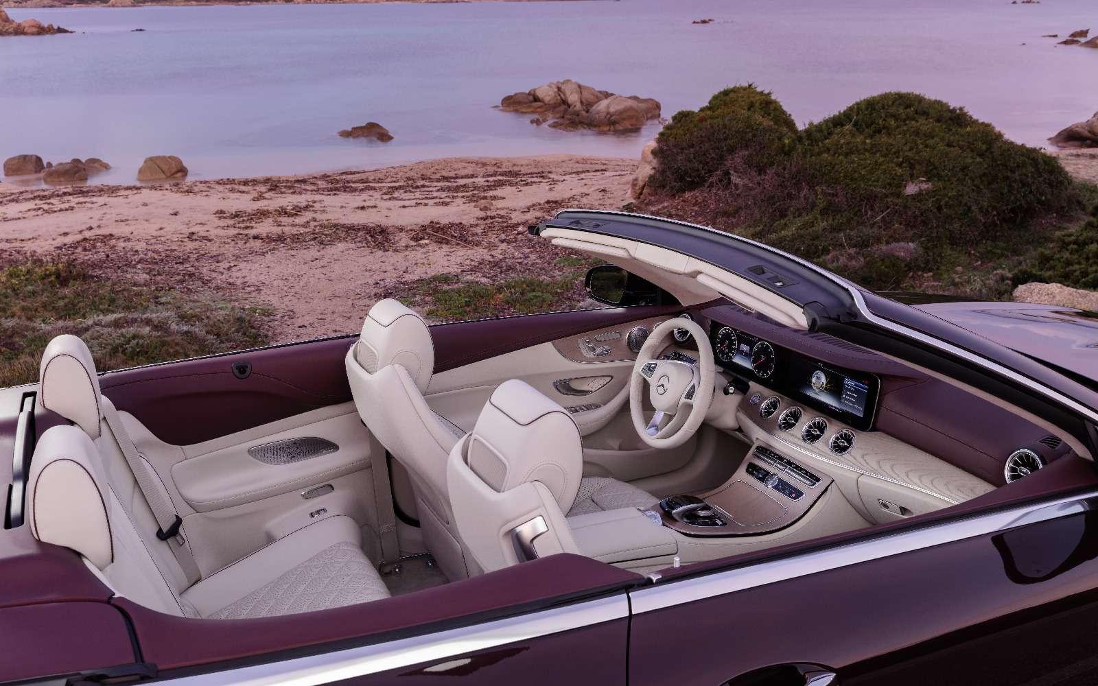 Новый кабриолет Mercedes-Benz E-класса оснастили полным приводом— фото 715167
