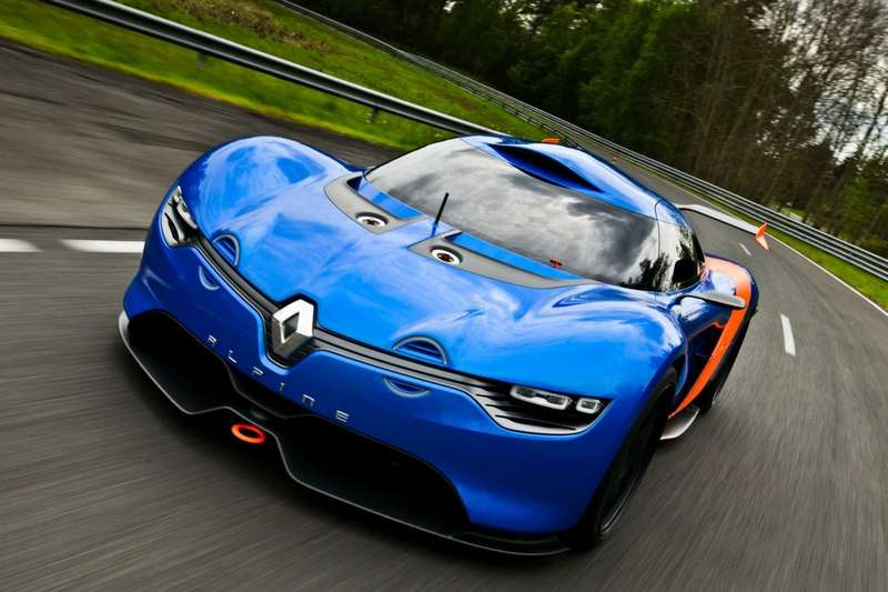 no copyright Renault Caterham Sports car 1