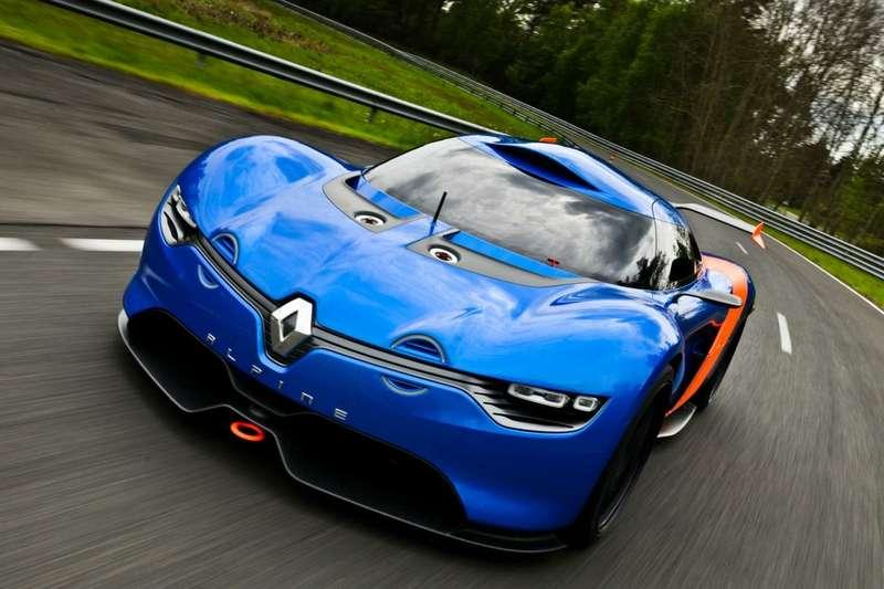 nocopyright Renault Caterham Sports car 1
