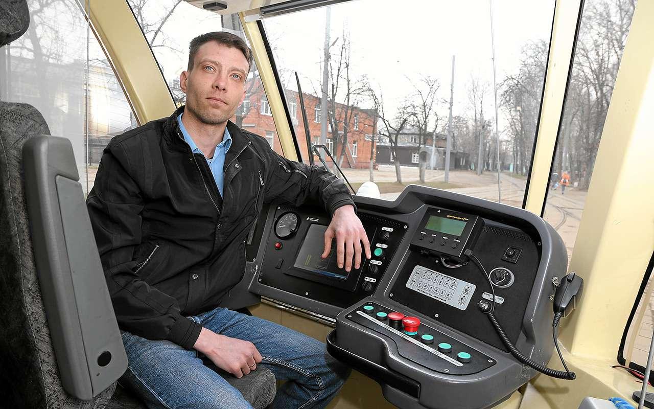 «Шустрых меньше стало»— что думает водитель трамвая онас, автомобилистах— фото 967422