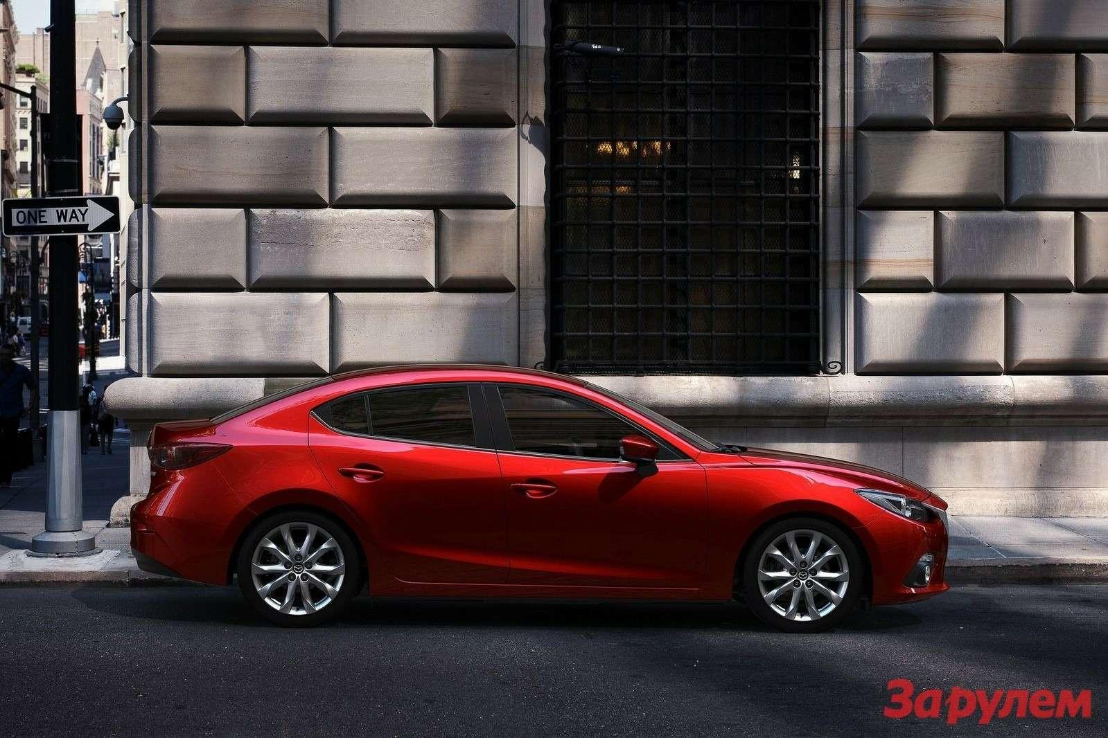 Mazda 3Sedan 2014 1600x1200 wallpaper 1e