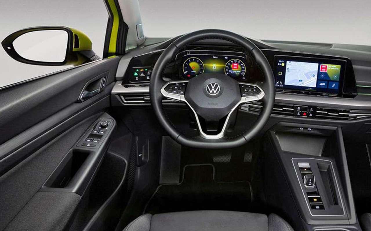 Новый Volkswagen Golf: запланированная «утечка» доофициальной премьеры— фото 1004397
