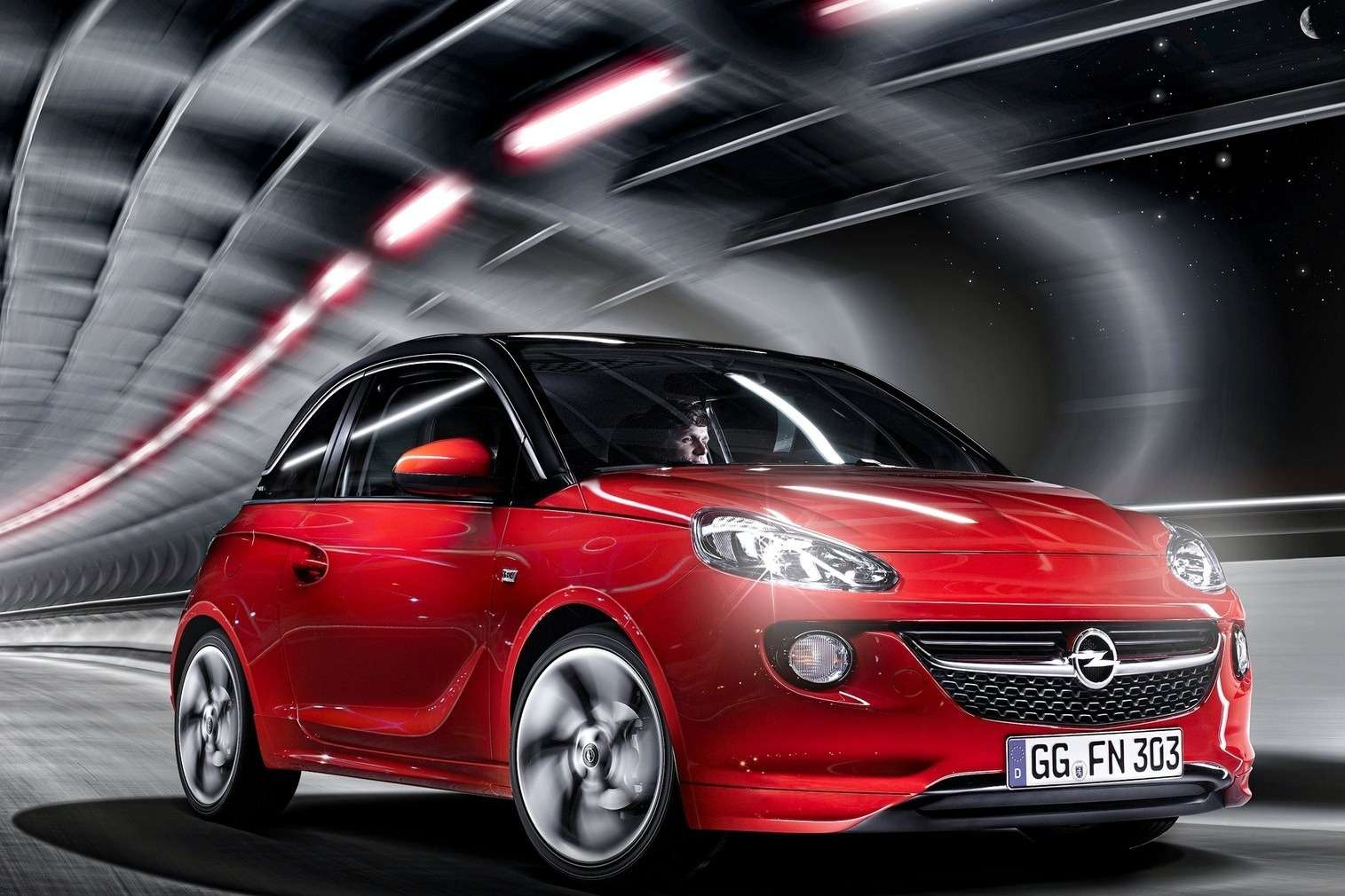 Opel Adam side-front view 2