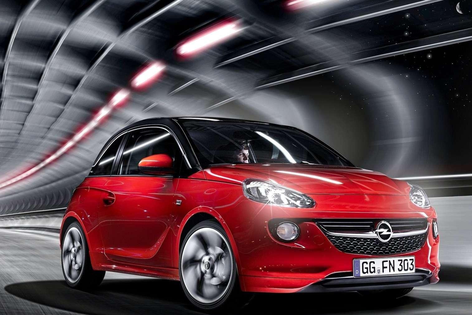 Opel Adam side-front view 2