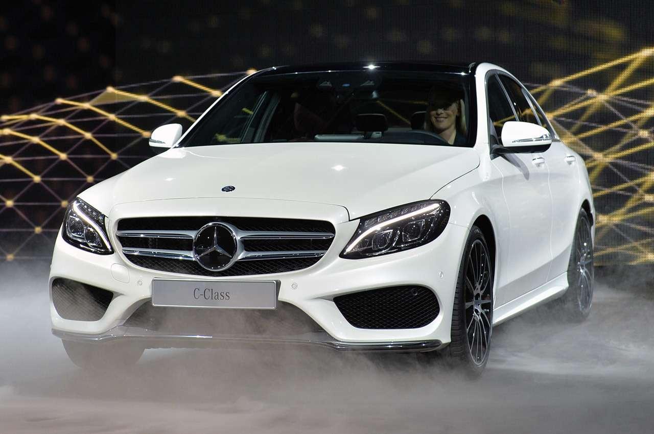 Новый Mercedes-Benz C-Class добрался доДетройта