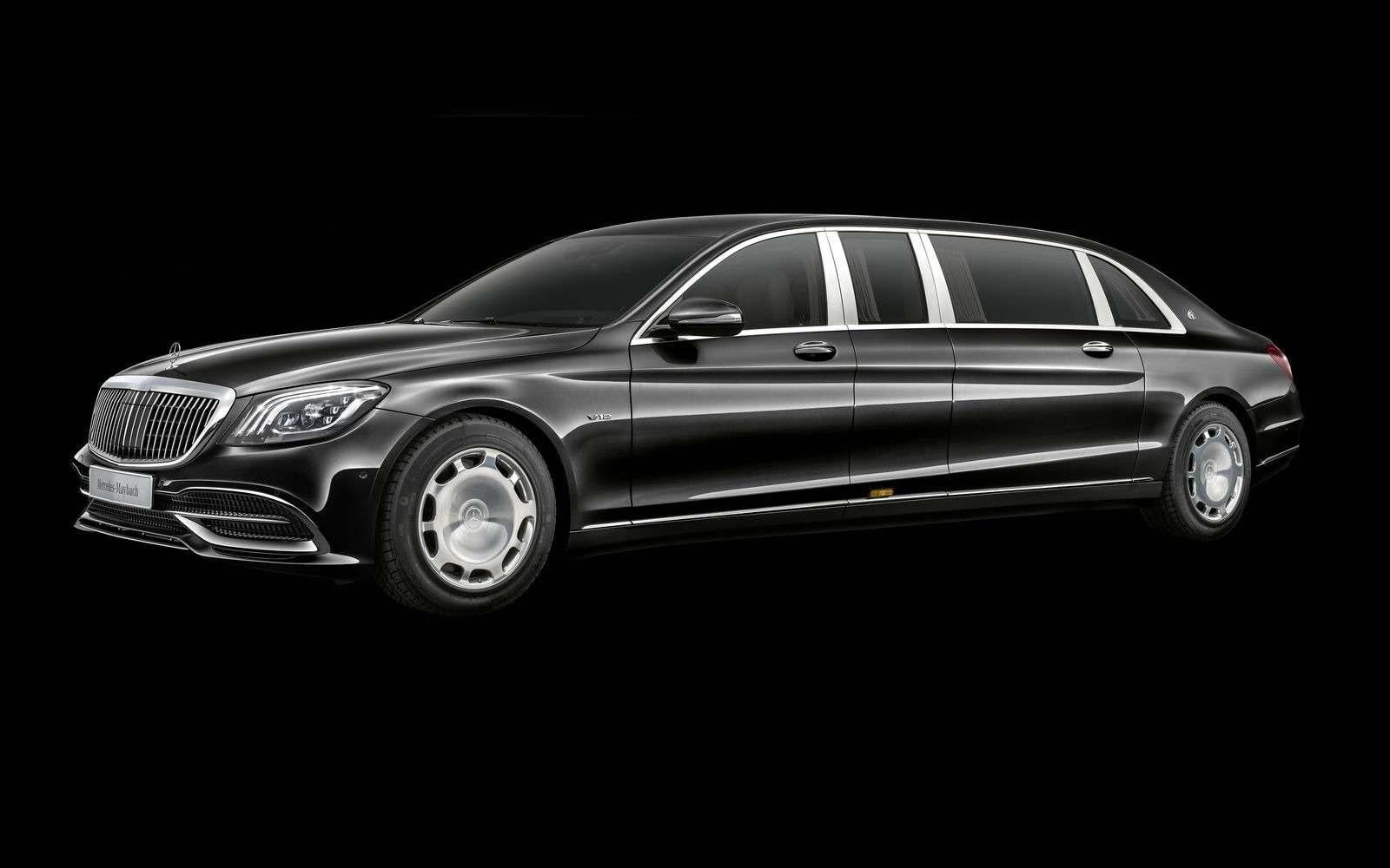 Лимузин Mercedes-Maybach Pullman пережил рестайлинг— фото 853888