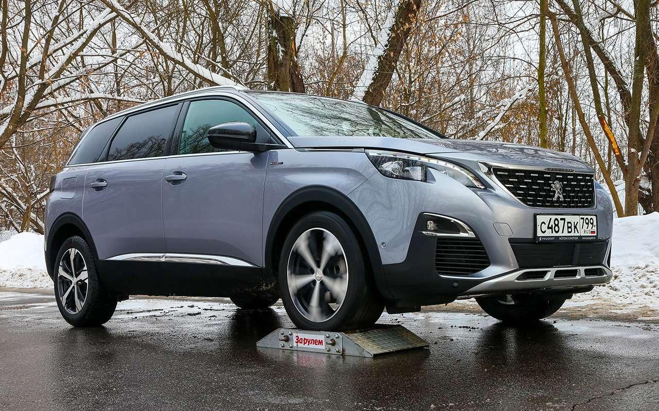 Renault Koleos 4х4 против Peugeot 50084х2: полный привод или электроника?— фото 860276