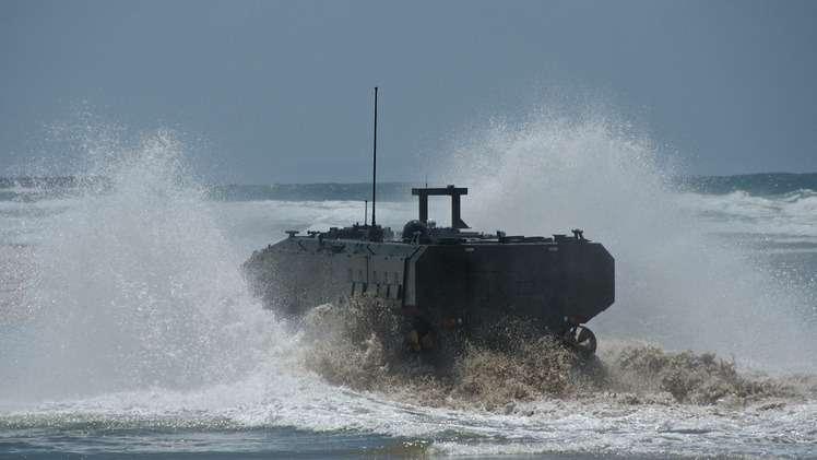 nocopyright BAE Marine Personnel Carrier