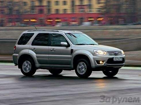 Наше знакомство Ford Escape: Ленинградское время— фото 91332