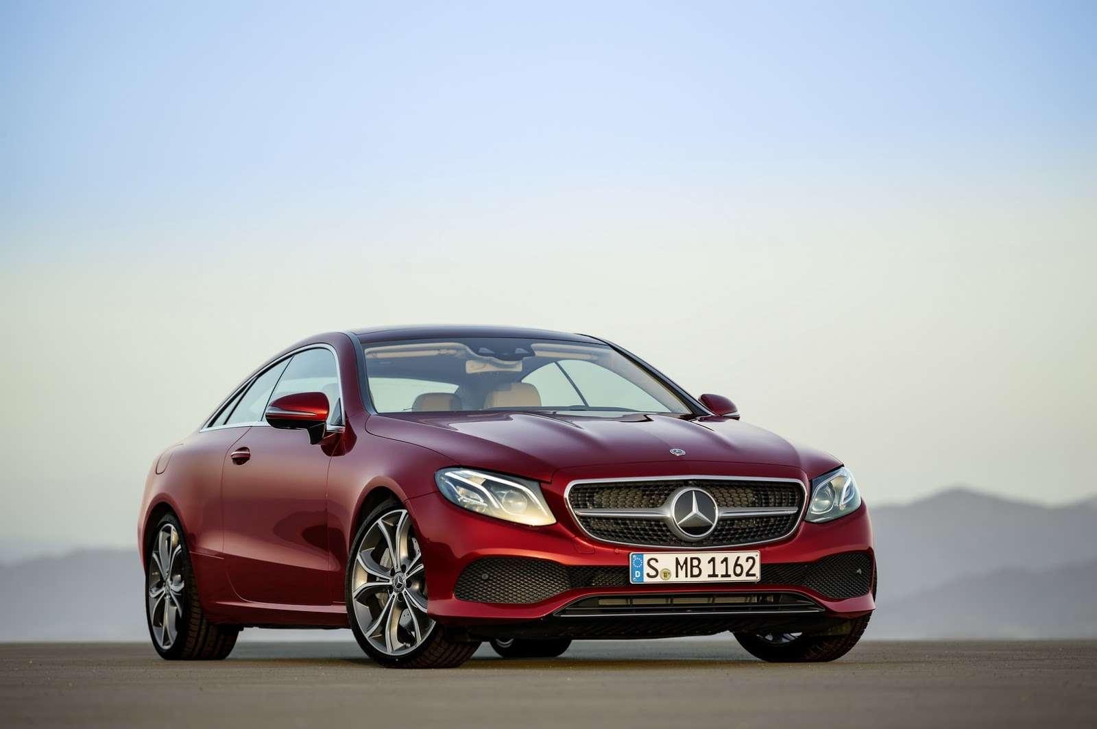 Больше илучше: Mercedes-Benz представил новое купе E-класса— фото 678182