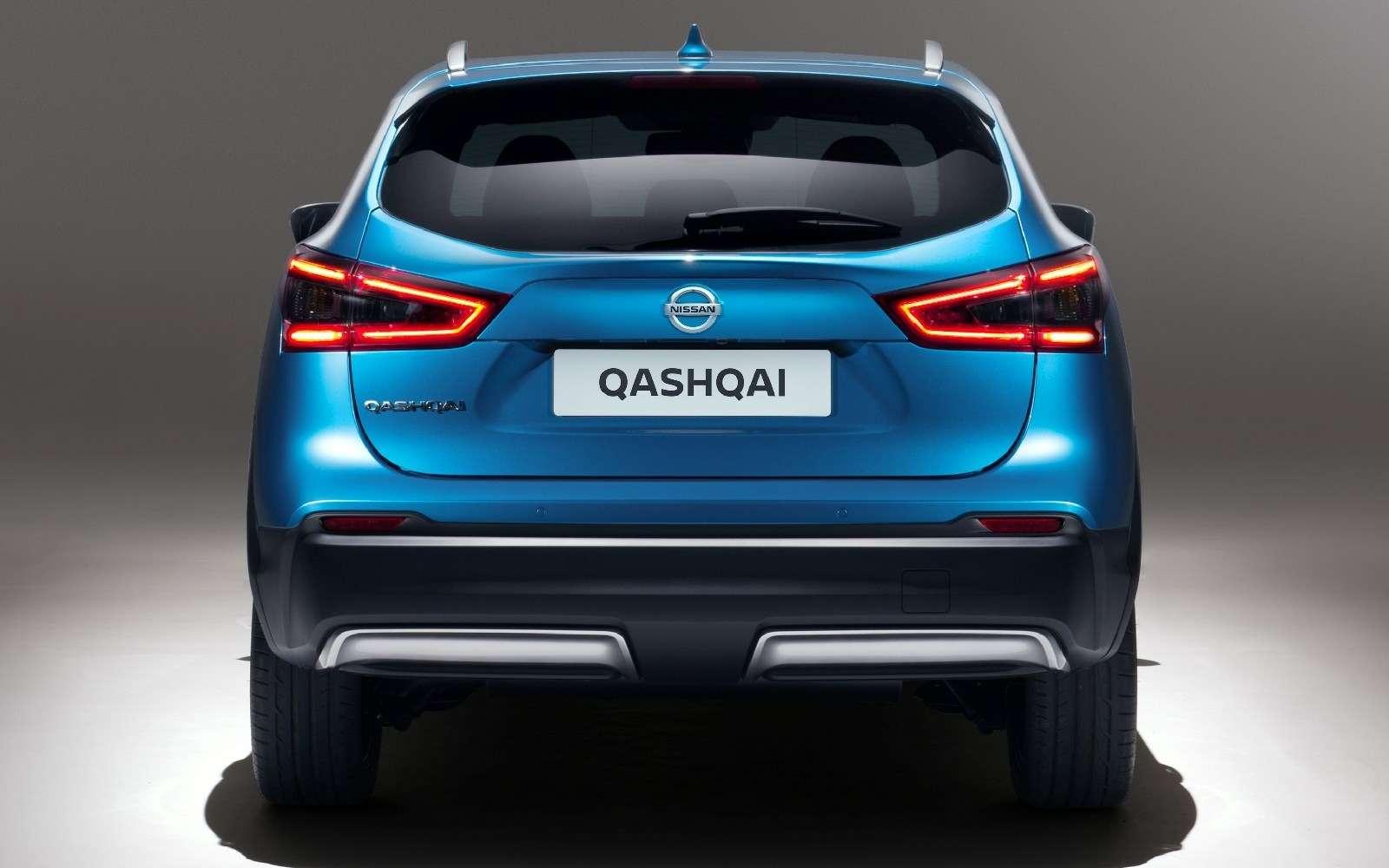 Обновленный Nissan Qashqai: европейский бестселлер самериканским лицом— фото 717709