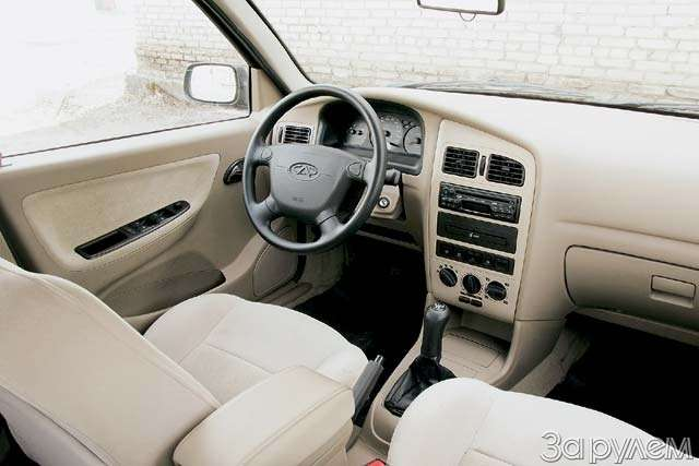 Тест-драйв Hyundai Accent, Chery Amulet. Восточные единоборцы— фото 65107