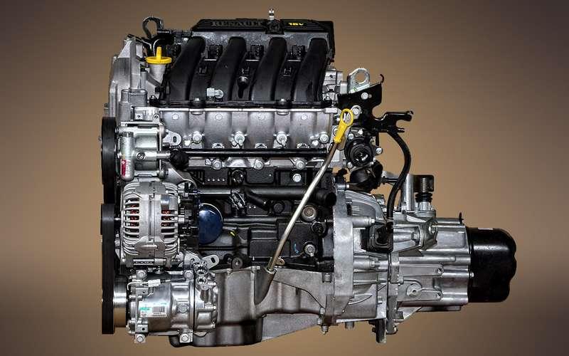 Атмосферный мотор Renault
