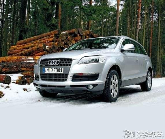 ПРЕЗЕНТАЦИЯ: Audi Q7. Раскрытый резерв