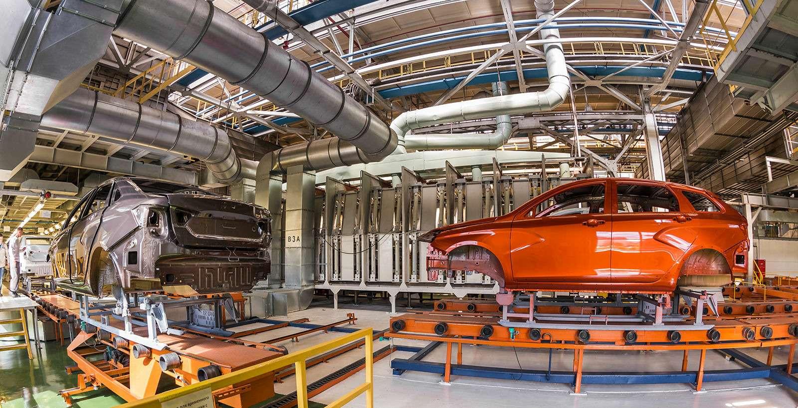 Началось производство универсалов Lada Vesta SWиSWCross— фото 793313