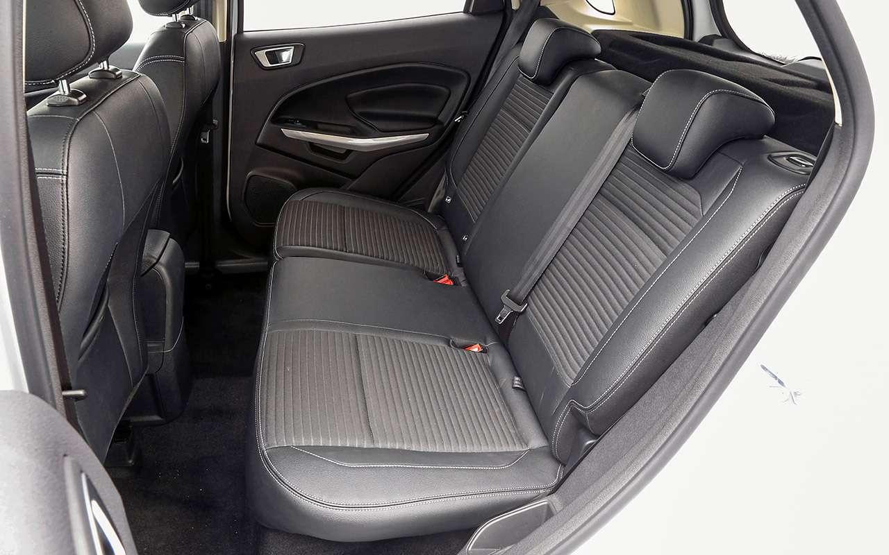 Большой тест кроссоверов: обновленный Ford EcoSport иконкуренты— фото 911187