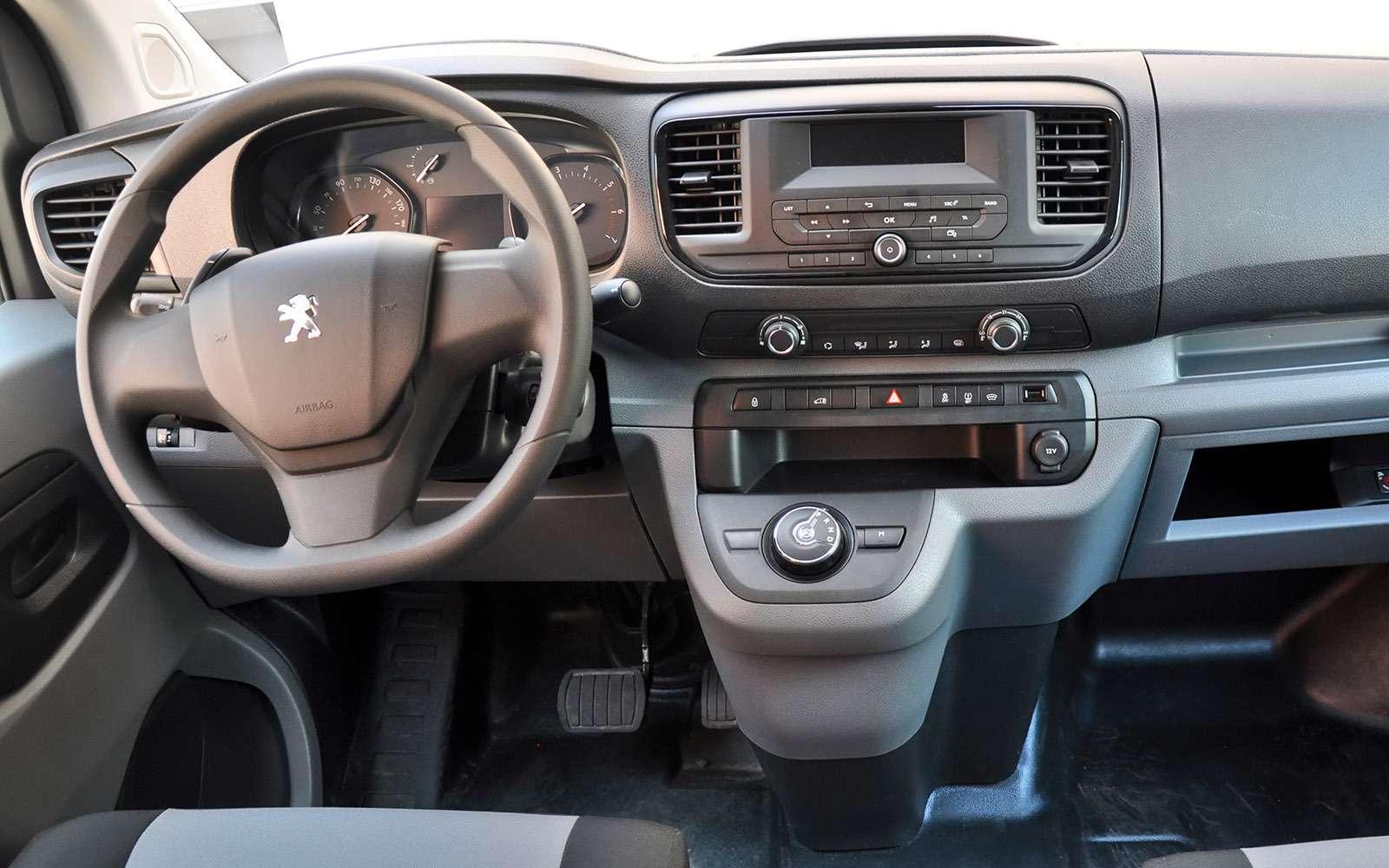 Фургоны Citroen Jumpy иPeugeot Expert: вся разница— вшильдиках— фото 769520