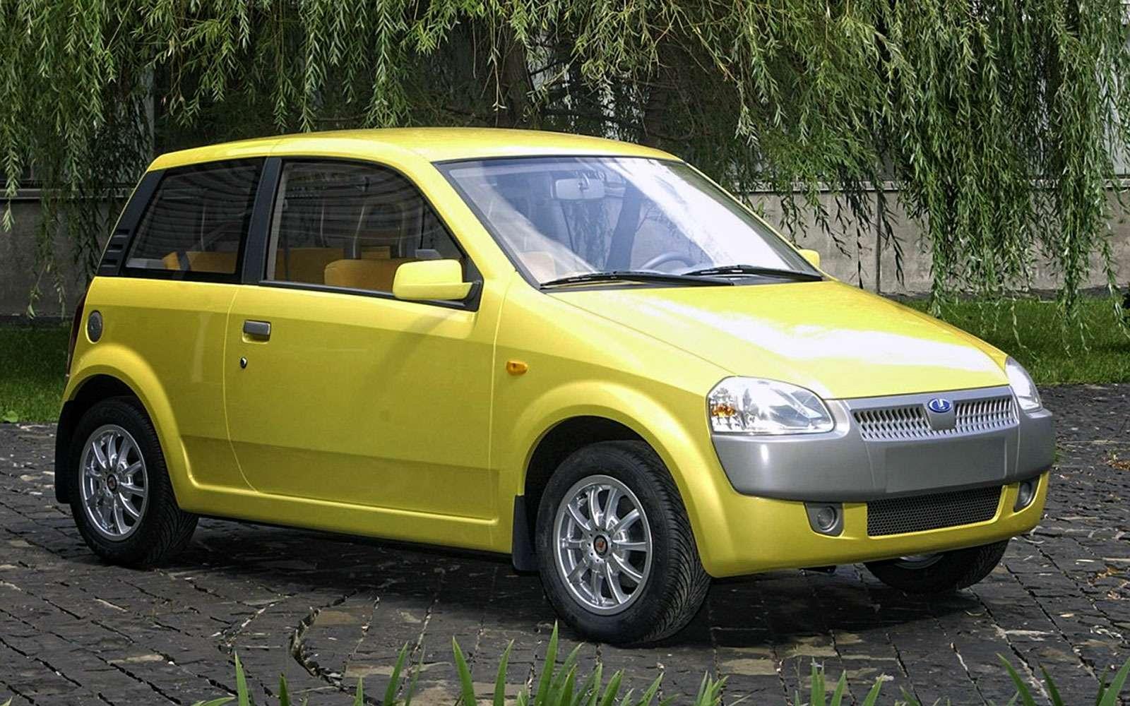 ВАЗ-1121, Ока-2, 2003г.