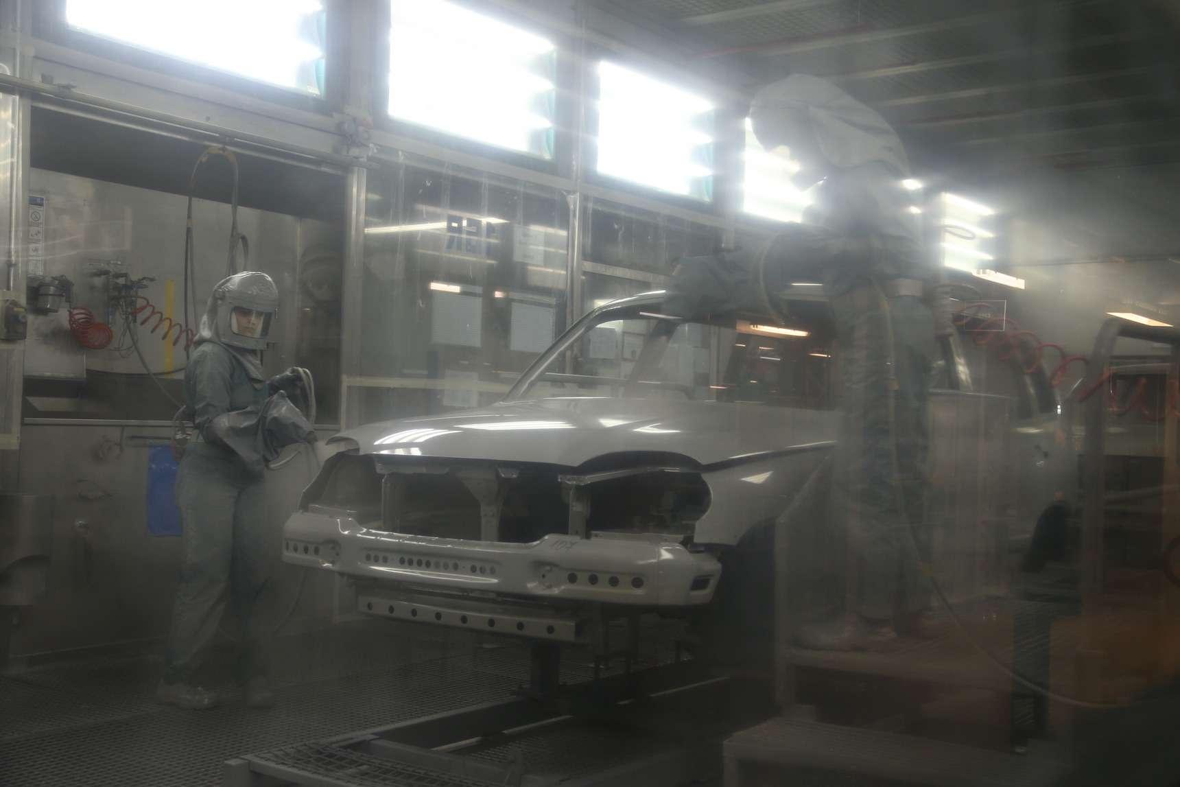 Каккрасят Chevrolet Niva: самый секретный цех СПGM-АВТОВАЗ— фото 582260