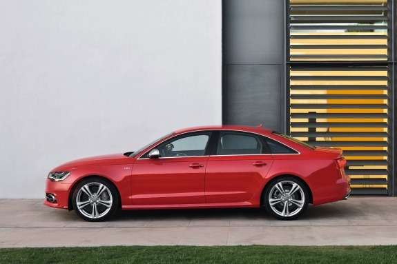 Audi S6side view