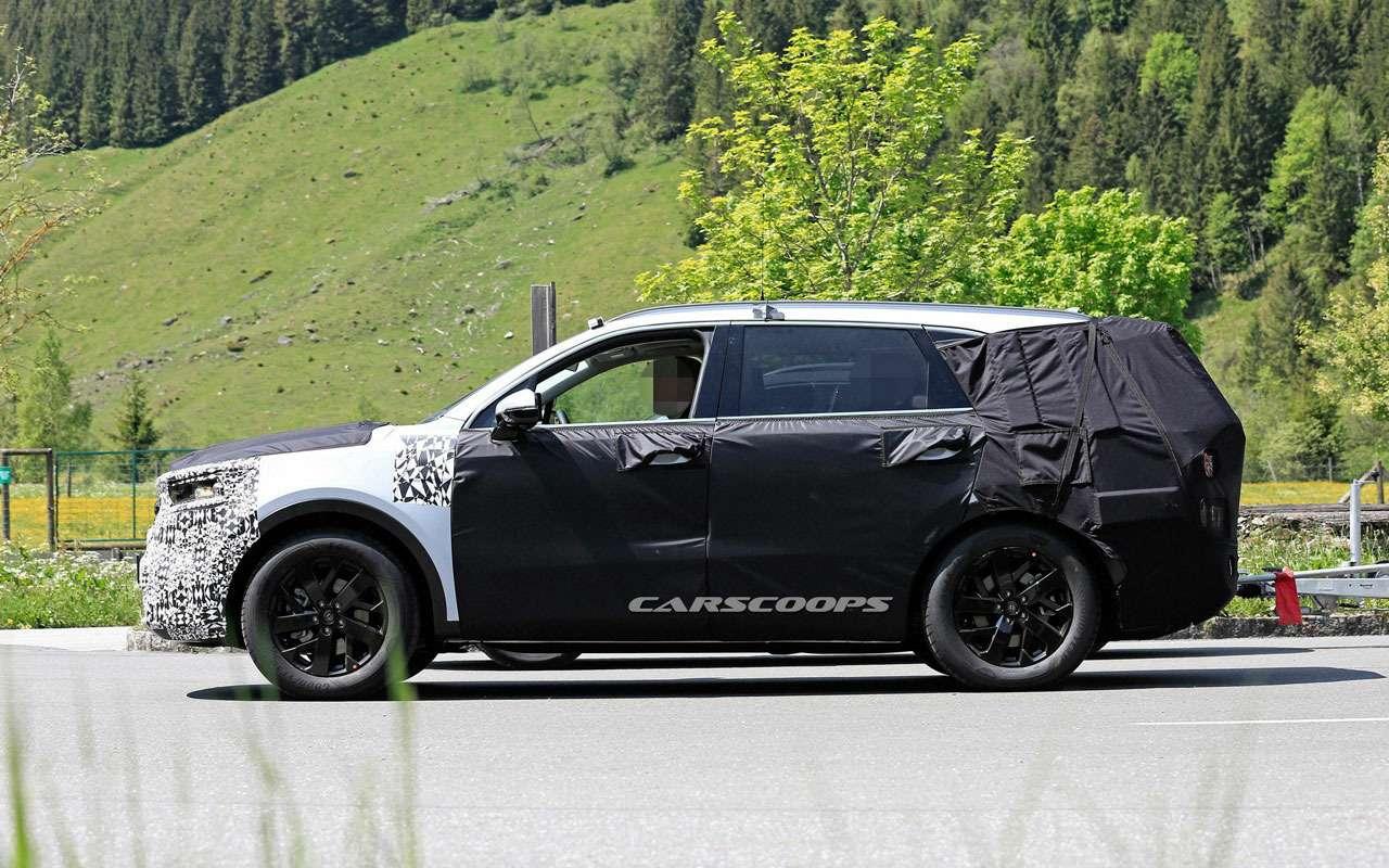 KiaSorento нового поколения копируют сBMW X5— фото 978860